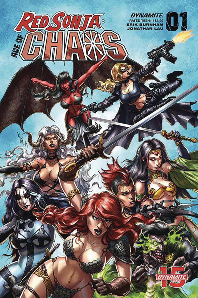 Red Sonja: Age of Chaos #1 (Quah Cover)