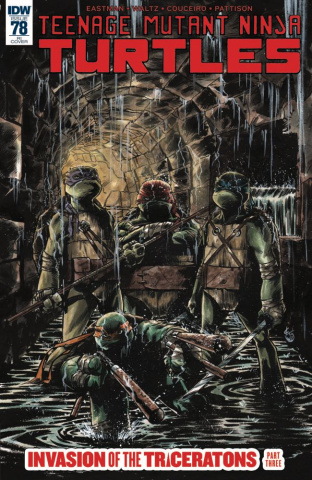 Teenage Mutant Ninja Turtles #78 (10 Copy Cover)