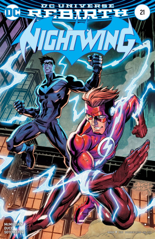 Nightwing #21 (Variant Cover)