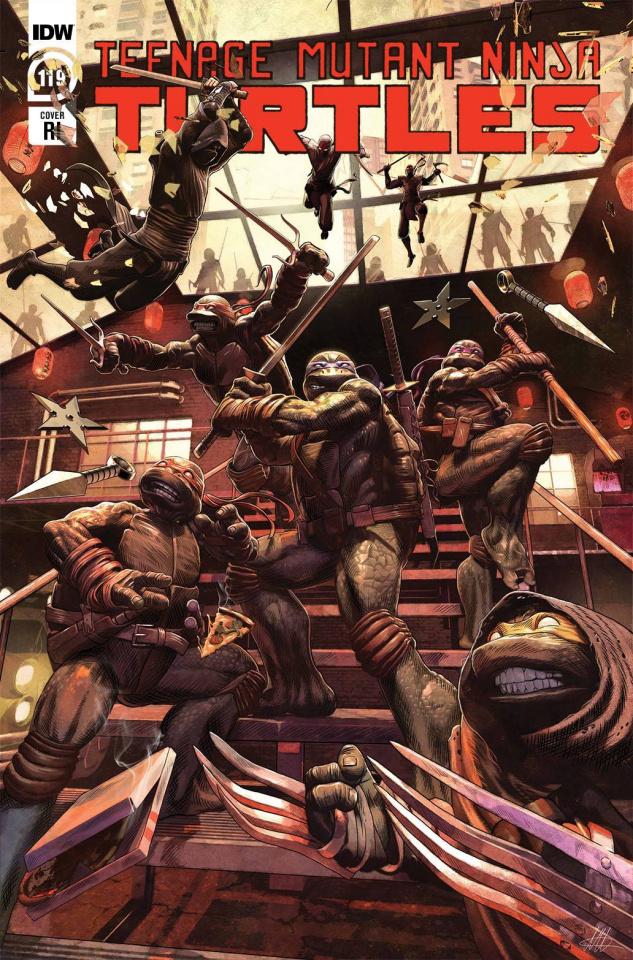 Teenage Mutant Ninja Turtles #119 (10 Copy McArdell Cover)