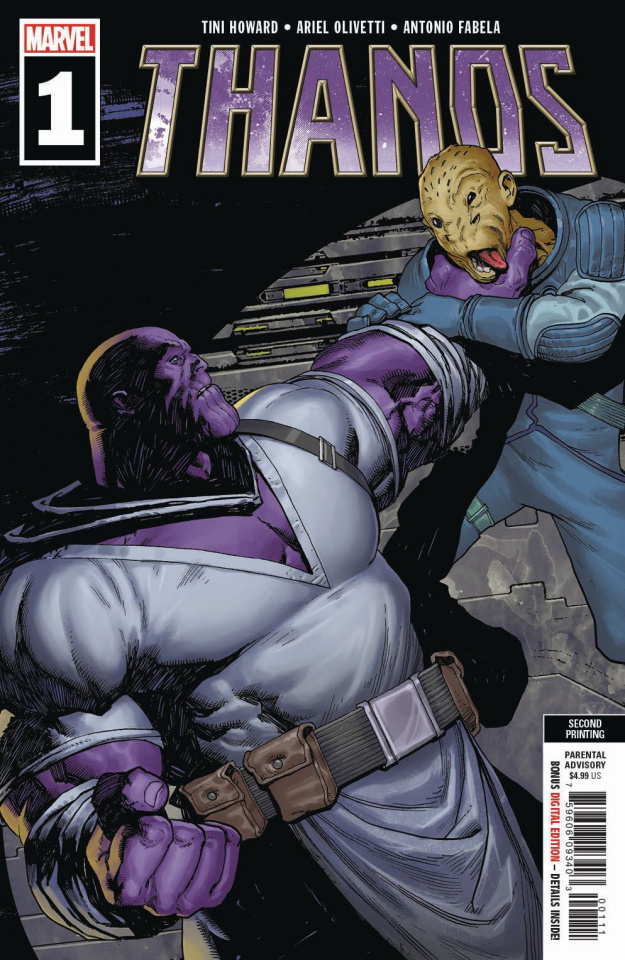 Thanos #1 (Olivetti 2nd Printing)