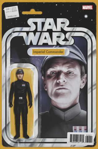 Star Wars #39 (Christopher Action Figure Cover)
