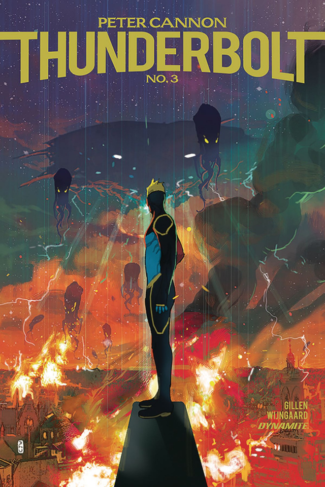 Peter Cannon: Thunderbolt #3 (Ward Cover)