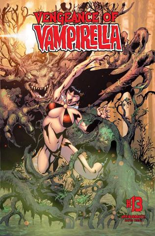 Vengeance of Vampirella #13 (Castro Bonus Cover)