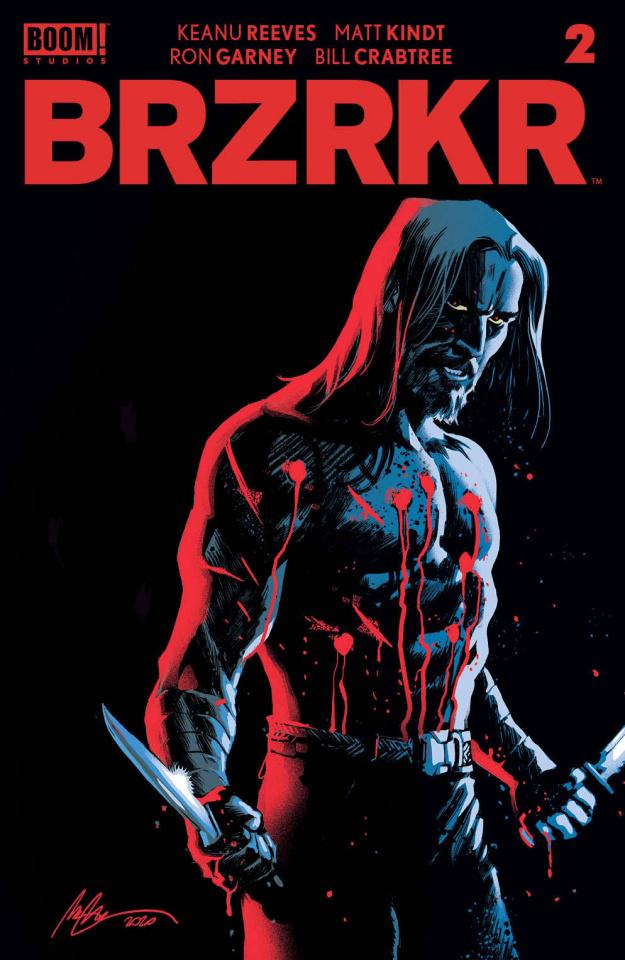 BRZRKR #2 (Albuquerque Cover)