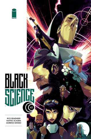 Black Science #42 (Scalera Cover)