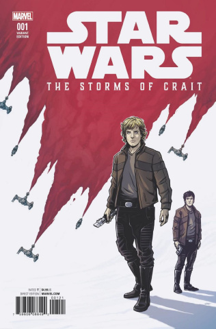 Star Wars: The Last Jedi - The Storms of Crait #1 (Wijngaard Cover)