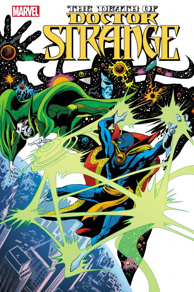 The Death of Doctor Strange #1 (Colan Hidden Gem Cover)