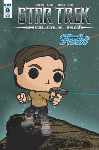 Star Trek: Boldly Go #8 (Funko Art Cover)