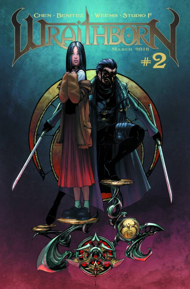 Wraithborn #2 (10 Copy Cover)