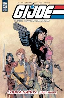 G.I. Joe: A Real American Hero #228 (Subscription Cover)
