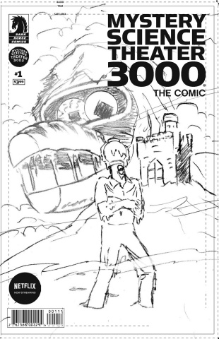 Mystery Science Theater 3000 #3 (Vance Cover)