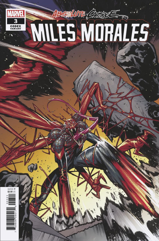 Absolute Carnage: Miles Morales #3 (Jacinto Codex Cover)