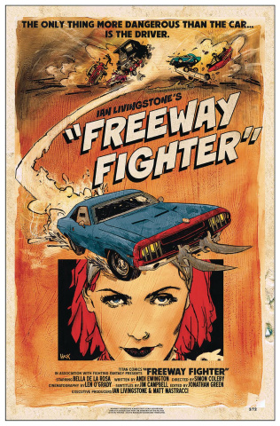 Freeway Fighter #1 (Hack Cover)