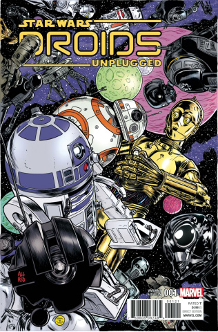 Star Wars: Droids Unplugged #1 (Allred Cover)