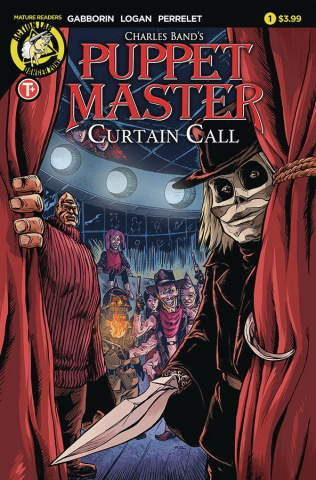 Puppet Master: Curtain Call #1 (Logan Cover)