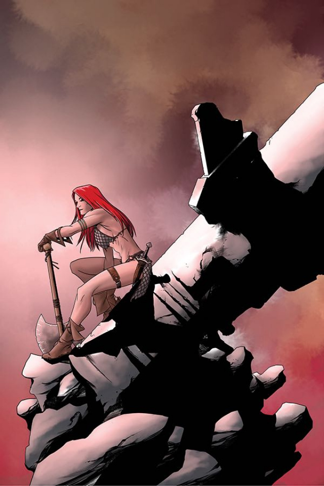 Red Sonja #25 (10 Copy McKone Virgin Cover)