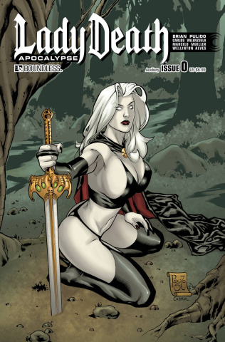 Lady Death: Apocalypse #0 (Auxiliary Cover)