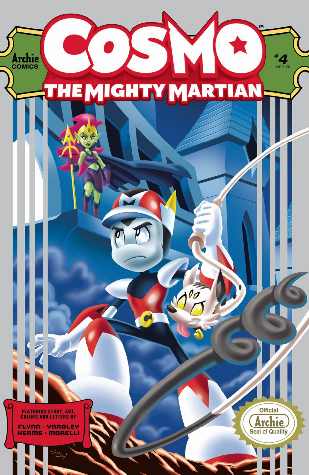 Cosmo: The Mighty Martian #4 (Yardley Cover)
