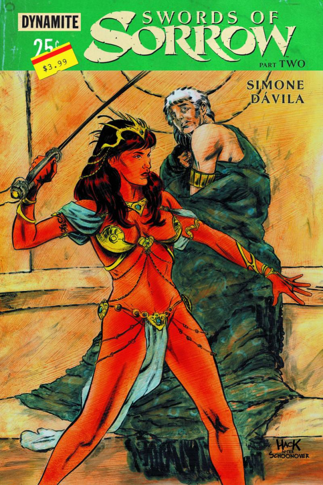 Swords of Sorrow #2 (Hack Subscription Cover)