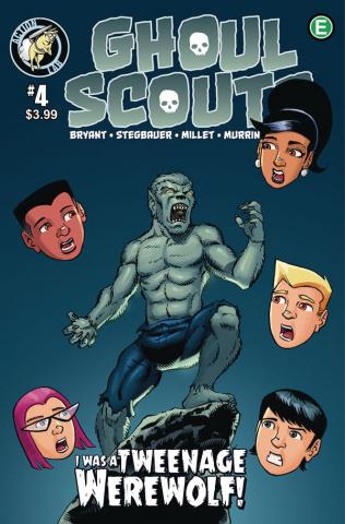 Ghoul Scouts: I Was a Tweenage Werewolf! #4