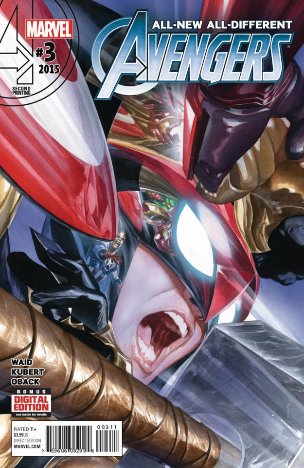 All-New All-Different Avengers #3 (Alex Ross 2nd Printing)