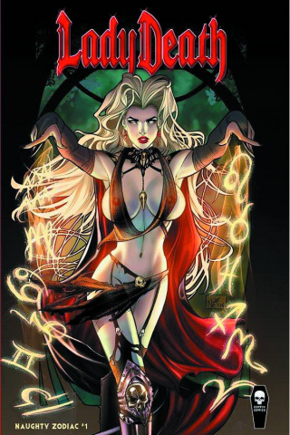 Lady Death: Zodiac #1 (All Naughty Cover)