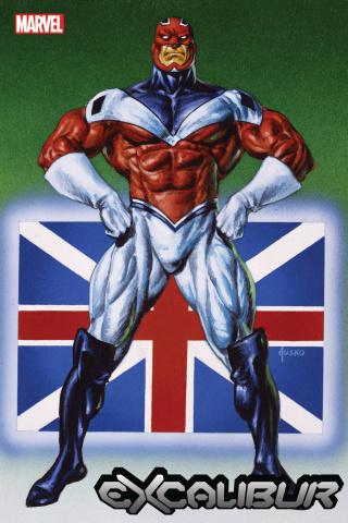 Excalibur #24 (Jusko Marvel Masterpieces Cover)