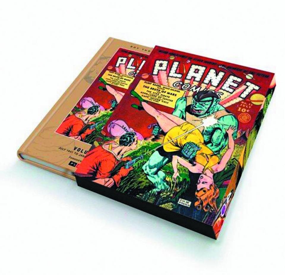 Planet Comics Vol. 4 (Slipcase Edition)