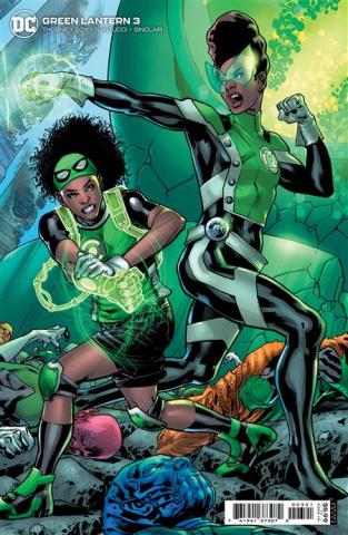 Green Lantern #3 (Bryan Hitch Card Stock Cover)