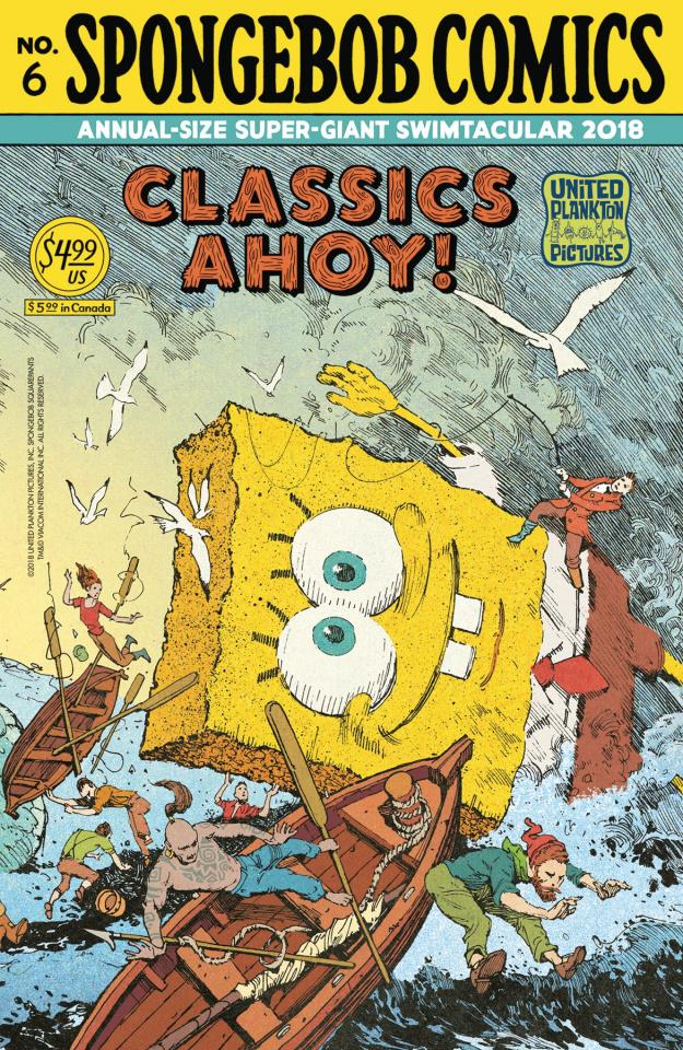 Spongebob Comics Annual Giant Swimtacular #6