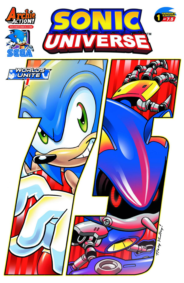 Sonic Universe #75 (Yardley Cover)