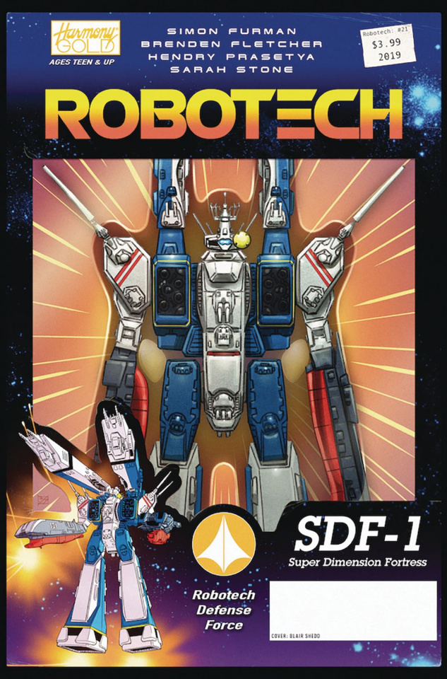 Robotech #21 (Vehicle Action Figure Cover)