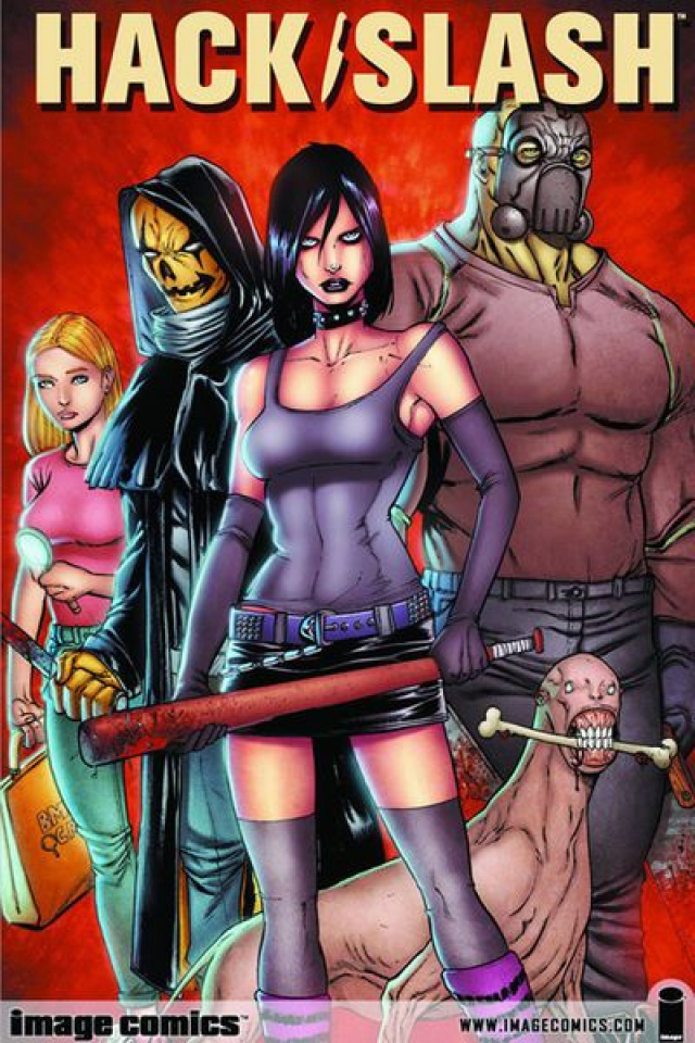 Hack/Slash #1 (Larsen Cover)