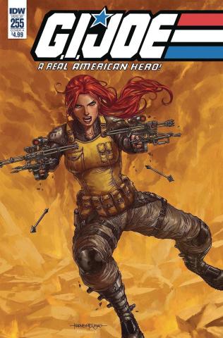 G.I. Joe: A Real American Hero #255 (Gallant Cover)
