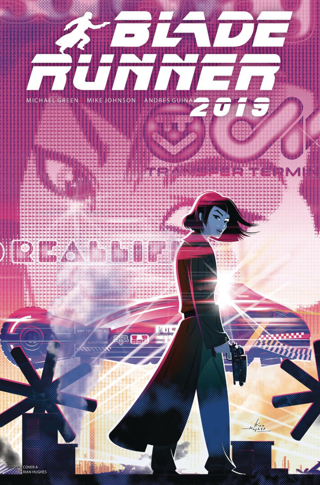 Blade Runner 2019 #6 (Rian Hughes Cover)