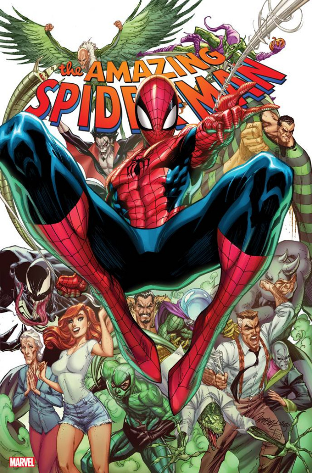 The Amazing Spider-Man #49 (JS Campbell Cover)