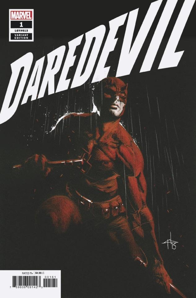 Daredevil #1 (Dell'Otto Cover)