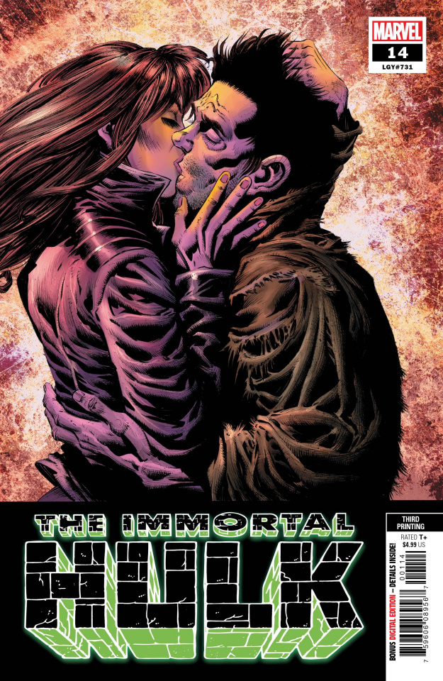 The Immortal Hulk #14 (Hotz 3rd Printing)