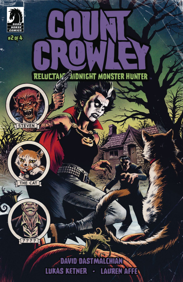 Count Crowley: Reluctant Midnight Monster Hunter #2