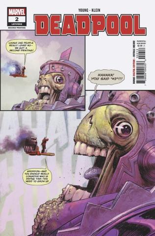 Deadpool #2 (Klein 2nd Printing)