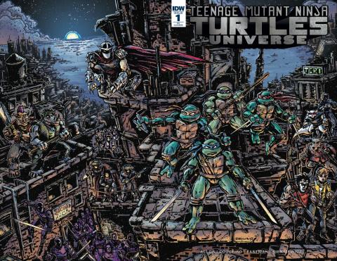 Teenage Mutant Ninja Turtles Universe #1 (25 Copy Cover)