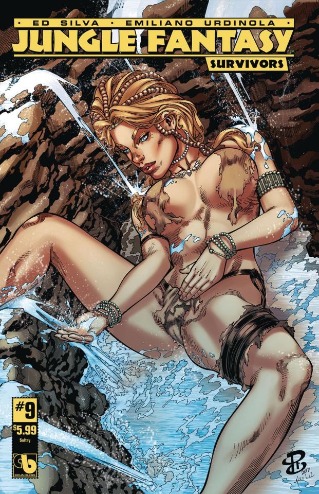 Jungle Fantasy: Survivors #9 (Sultry Cover)