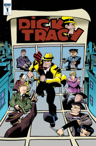 Dick Tracy: Dead or Alive #1 (20 Copy Oeming Cover)