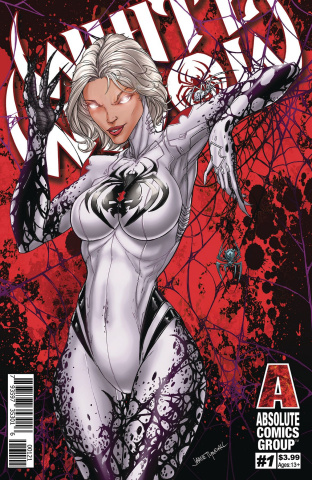 White Widow #1 (Red Foil Cover)