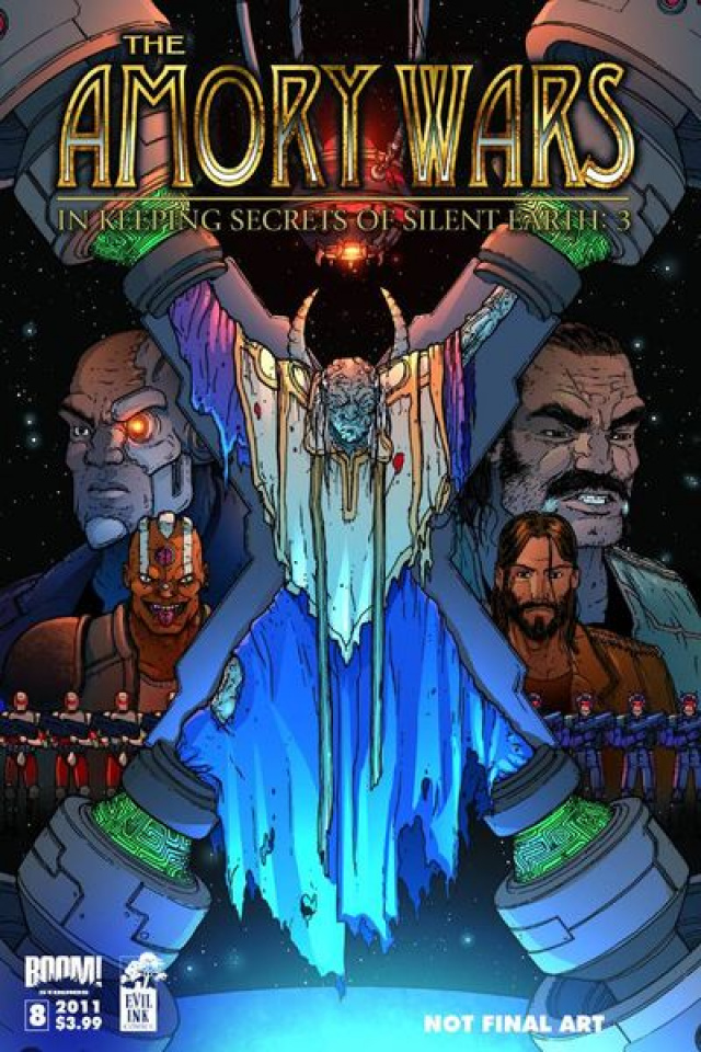 The Amory Wars: In Keeping Secrets of Silent Earth 3 #8
