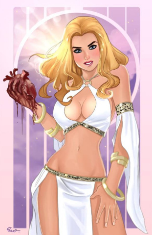 Grimm Fairy Tales: Goddess Inc. #5 (Pekar Cover)