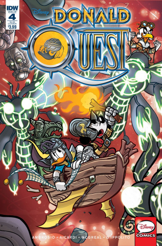 Donald Quest #4 (Subscription Cover)