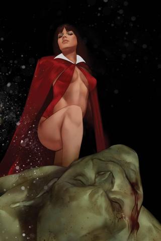 Vengeance of Vampirella #8 (Oliver Virgin Cover)