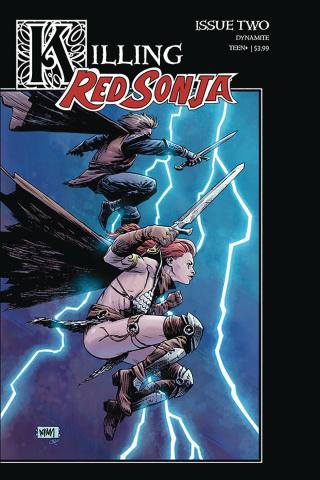 Killing Red Sonja #2 (Gorham Homage Cover)